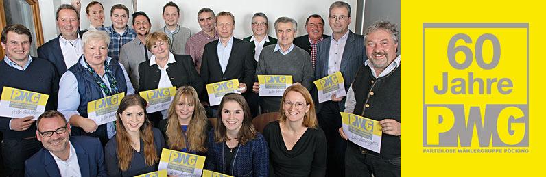 60 Jahre Parteilose Wählergruppe PWG Pöcking
